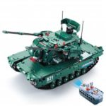 CaDA C61001W 1498pcs Blocks Building Assembled RC Tank Toys for Kids Gift