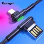 Essager 2m 3A Fast Charging USB Cable For Samsung Huawei Xiaomi Cable Mobile Phone Charger Sync Cord