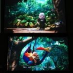 Excelvan Portable 120 inch projector screen