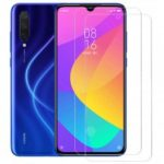 ASLING 2.5D Arc Edge 9H Transparent Film Screen Protector for Xiaomi Mi 9 Lite ( Precise Hole )