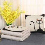 Multifunction Pillow Dual Use Cushion Lunch Break Quilt