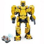 CaDA C51029 1124pcs 2 in 1 DIY Assembling Building Block Bricks RC Robot Car Toy