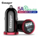 Essager Quick Charge 4.0 3.0 USB Car Charger Type C PD Charger For iPhone 11 Pro Max QC4.0 QC3.0