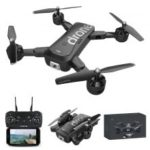 F88 Portable Foldable WiFi FPV RC Quadcopter Drone with HD Wide-Angle Camera Toy