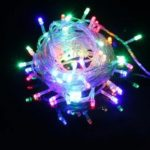 LED Flash Lights String Lights Full Of Star Christmas Tree Decorative Lights Holiday Star Lights