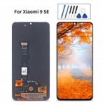 Original xiaomi touch LCD for xiaoomi MI9 SE-Black