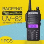 Walkie Talkie BaoFeng UV-82 Dual-Band 136-174 400-520 MHz FM Ham Two Way Radio Transceiver
