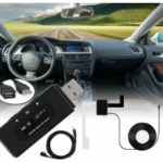 Car Stereo DAB+ Radio  Receiver Adapter BT FM Transmitter MP3 Music Player AUX/TF