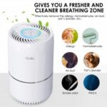 Gblife KJ65F A1 Air Purifier with 3 Filtering Stages for Scurf Dust Smoke