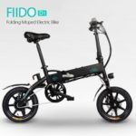 Aluminum Alloy Folding Electric Bicycle With Pedals Tire 250W Hub Motor