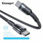 Essager USB 3.1 Type C to USB C Cable PD 100W 4.0 3.0 Quick Charge Cable For  Macbook Pro