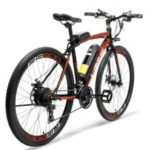LANKELEISI RS600 700C Pedal Assist Electric Bike 36V15Ah Battery 300W  Road Bicycle
