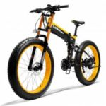 LANKELEISI XT750PLUS 48V 10AH 500W Powerful Electric Bike 26
