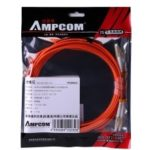 AMPCOM Multumode Duplex 50 125 LZSH Fiber Cable LC to LC Fiber Patch Cord
