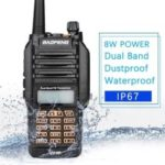 Baofeng UV-9R Handheld Walkie Talkie 8W UHF VHF Dual Band IP67 Waterproof Two Way Radio Transceiver