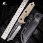 HX OUTDOORS D-183 7Rv17Mov Blade Fixed Knife Outdoor Survival Tactical with snipers Multi Tool Knife