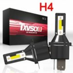 2pcs H4 LED Bulbs Bi-Xenon Hi/Lo 110W 26000LM Headlight Conversion Kit Lamp