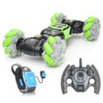 2168A 4WD RC Stunt Car Watch Control Gesture Induction Deformable Drift Car with LED Light