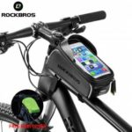 ROCKBROS Bicycle Bag Waterproof Touch Screen Cycling Bag Top Front Tube Frame