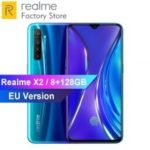 EU Version OPPO REALME X2 6.4inch 8GB 128GB Snapdragon 730G 64MP Quad Cameras Moblie Phone