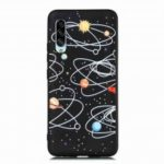 TPU Frosted Starry Sky Painted Phone Case for Samsung Galaxy A90 5G