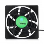 CAPEXIN Mini Cooling Fan Powerful Heat Dissipation CPU Cooler for TV Box Mini PC Notebook Computer Use
