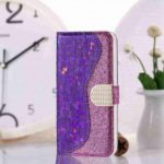 Laser Flash Powder PU Phone Case for Iphone 11 Pro Max