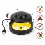 BRELONG Sticky Trap Mosquito Repellent USB Lamp Multifunction Flea Moths Bug Insects Pest Killer