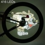 FH – 801 Pro DIY Cycling Bicycle 416 LEDs Waterproof Colorful Changing Video Gift Pictures  -0211