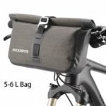 ROCKBROS Bicycle Bag Big Capacity Waterproof Front Tube Cycling Bag MTB Handlebar Bag