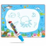 Children Early Education Baby Cartoon Water Painting Cloth Graffiti Blanket