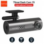 70mai Dash Cam 1S Wifi APP English Voice Control 1080P Night Vision Car DVR Camera