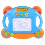 Arshiner Children Kids Magnetic Writing Drawing Board Musical With Light