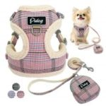 Soft Pet Dog No Pull Harness Vest Adjustable Puppy Cat Harness Leash Set for Small Medium Dogs Coat