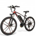 Samebike MYSM26 Electric Bicycle 350W 48V Outdoor Electric Moped Bicycle