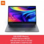 Xiaomi Laptop 15.6 Pro Enhanced i7 MX250 Notebook 2GB GDDR5 16GB DDR4 RAM 512GB PCle SSD UltraSlim