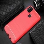 Brushed Carbon Fiber Phone Case for Samsung Galaxy M31