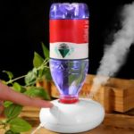 BRELONG Car Humidifier Night Light Portable USB Powered Mini Car Mute Atomizer Aromatherapy