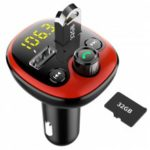 Dual USB Car Charger Bluetooth MP3 Player Cigarette Lighter