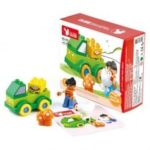 DIY Big Building Blocks Children's Educational Toys Early Childhood Cognitive Character Scenes Series
