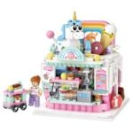 LOZ Cake Shop DIY Children's Educational Toy Blocks