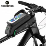 ROCKBROS Bicycle Bag Front Tube Bike Phone Bag Touchscreen Saddle Bag Waterproof