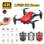 Mini Drone LF606 4K HD Camera Foldable Quadcopter One-Key Return FPV RC Helicopter Quadrocopter
