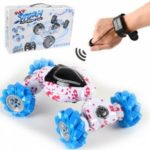 4WD Drive Off-Road 2.4G Gesture Sensing Twisting Vehicle RC Stunt Remote Control Car Toys