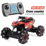 2.4GHz 4WD RC Car Off-road Music Remote Control Car Stunt Drift Climbing Car Toys for Children Gifts