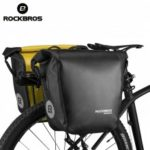 ROCKBROS Waterproof 10-18L Portable Bike Bag Pannier Rear Rack Tail Seat Trunk Pack Cycling MTB Bag