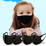 Anti-Pollution Dust Mask With Elastic Earrings Washable Mask For kids mask From 6 To 13 Years