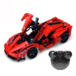 CaDA C51009 380PCS DIY Model Remote Control Sports Car Technic Building Block Bricks RC Car Toys