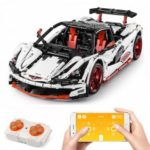 13067 1928PCS Super Sports Car With APP Control Building Blocks RC Car Toys Gifts For Children