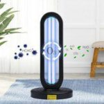 38W UV Germicidal Light Ozone Sterilizer Lamp Remote Control for Home School Hotel